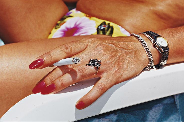 Benidorm (Common Sense 70, sometime between 1995-'99 MARTIN PARR