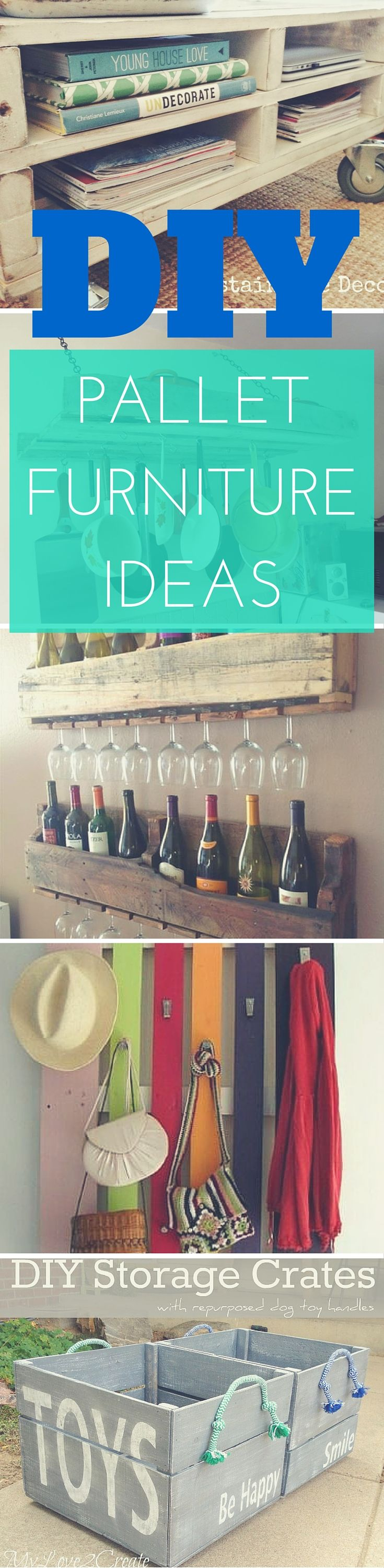 27 Simple DIY Pallet Furniture Ideas and DIY Pallet Projects