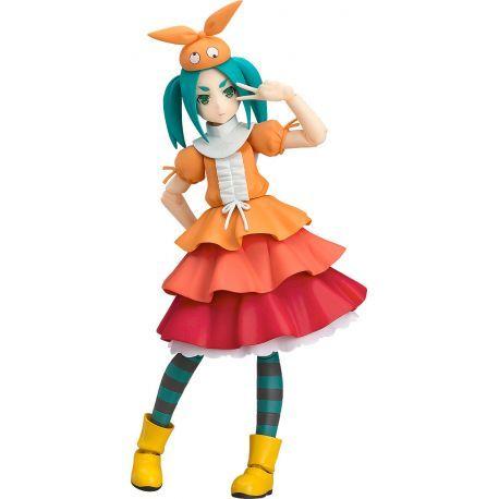 Figurine Yotsugi Ononoki de l'animé Tsukimonogatari articulée taille env. 12 cm, livrée sur socle. Modèle disposant de nombreuses articulations spéciales pour des poses dynamiques et réalistes.