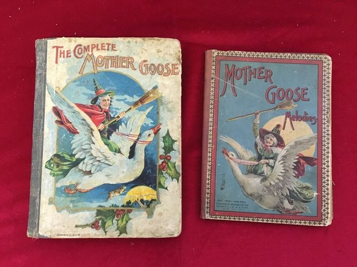 mother goose nursery rhymes hurst Antique mother goose santa claus abc book by hurst & co ~ early 1900's  antique candy tin tindeco merry christmas santa nursery rhymes mother goose.
