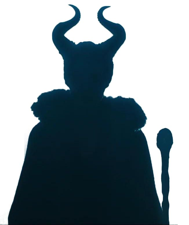 silhouette of disney malificent - Google Search