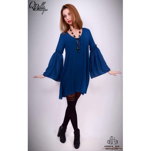 Rochie albastra lejera