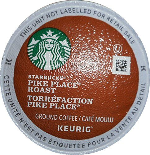 Starbucks Pike Place Roast Coffee Keurig K-Cups, 24 Count (Pack of 4) *** See this awesome image  : K Cups
