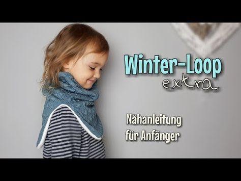 Winterloop Extra - Nähanleitung für Anfänger - OHNE Schnittmuster ...