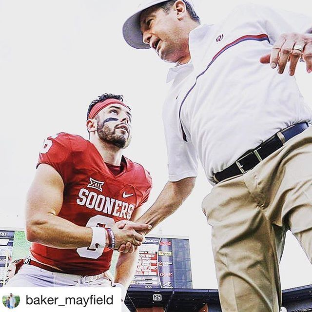 (Repost @baker_mayfield) Used to dream for this. Now I'm just working to enjoy every second of it. Game day is getting closer!