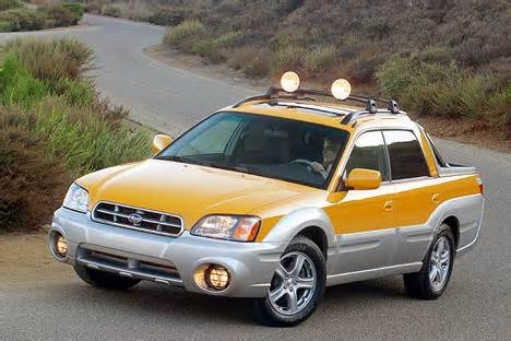Subaru Baja -- unique and useful