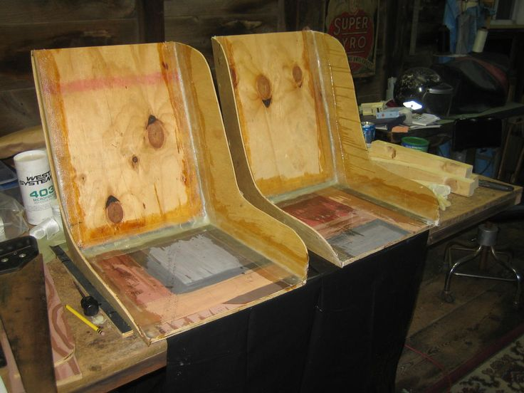 how to make your own boat seats
