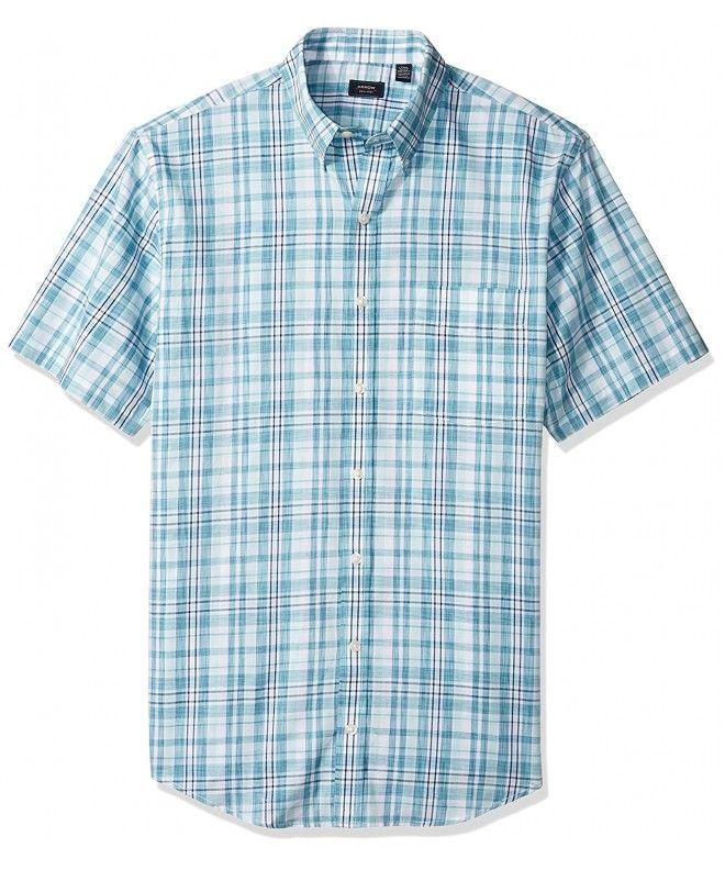 b0d943ae Arrow Men's Big and Tall Short Sleeve Spacedye Shirt - Faience ...