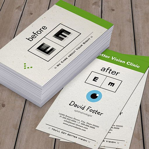 eye doctor ophthalmology ophthalmologist optometry business card buisness cards pinterest optometry business and optometry office