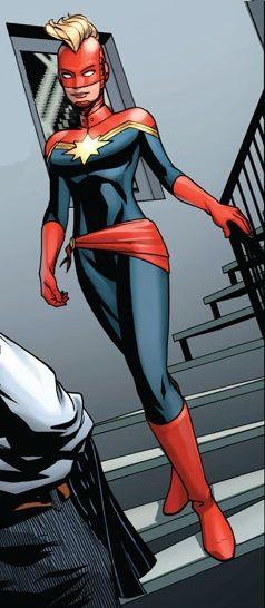 Carol Danvers wikia page