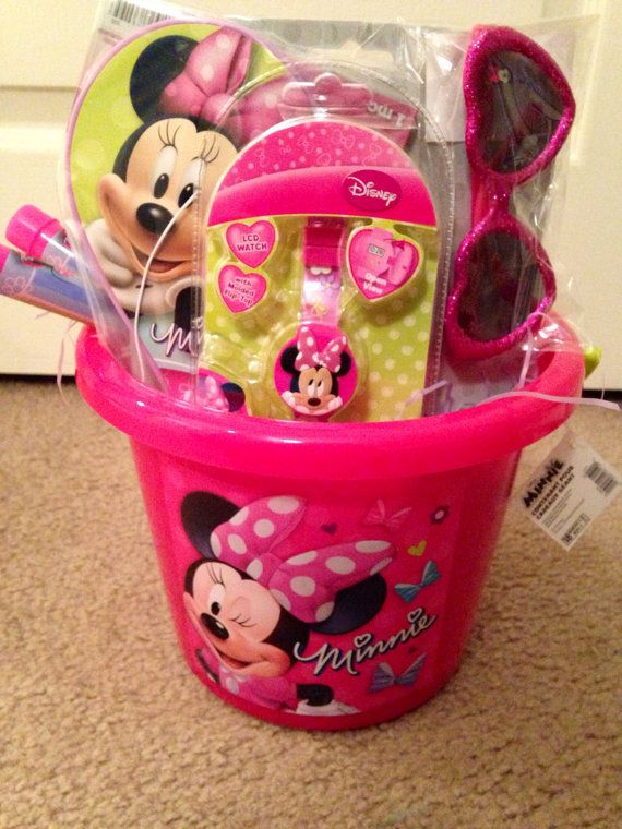 Minnie Mouse Easter Basket By Vyjcreations On Etsy 25 00