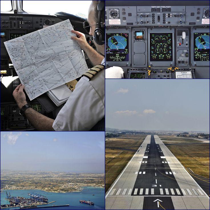 Προσεγγίζουμε για την προσγείωση στην Μάλτα. Malta International Airport Luqa Airport / Valletta Airport IATA: MLA – ICAO: LMML