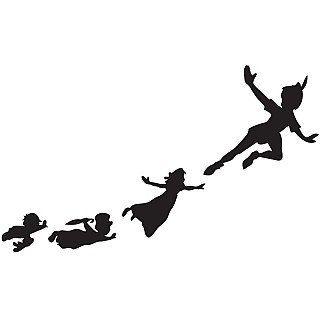 Peter Pan et Wendy Off pour tatouage temporaire par TabooTattoo