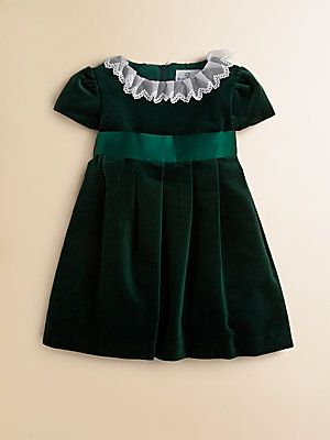 Florence Eiseman Toddler S Amp Little Girl S Velvet Dress