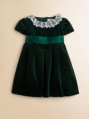 Florence Eiseman Toddler's & Little Girl's Velvet Dress