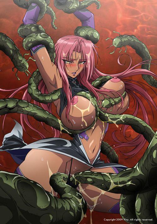 Monster anime porn