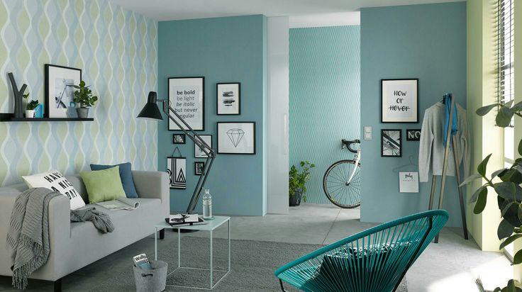 Papel de colgadura moderno ideas para decorar