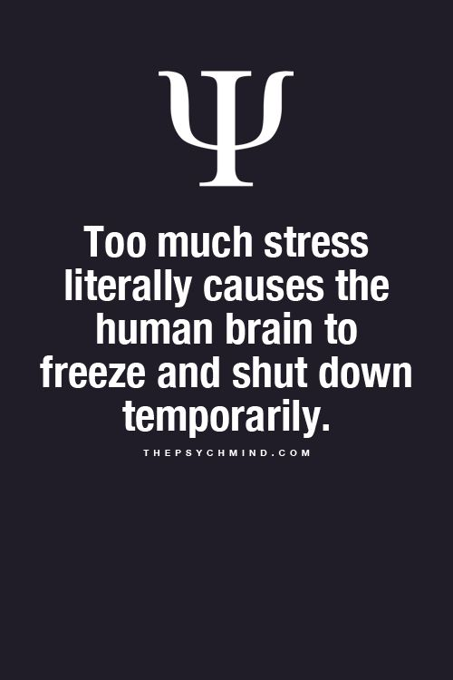 Very frustrating and not fun (especially if you are a student like myself!) I can say this, it does eventually fade away, but takes time without more stress...If more stress comes your way then this problem will expand.