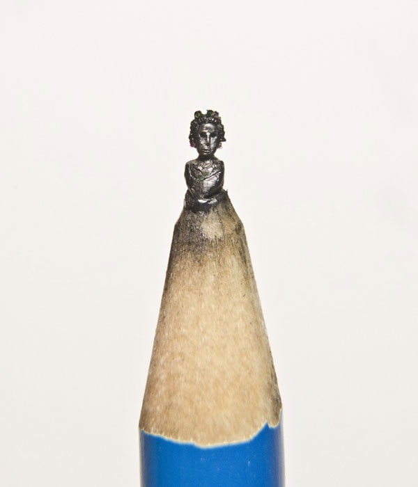 Faith is torment art and design pencil tip