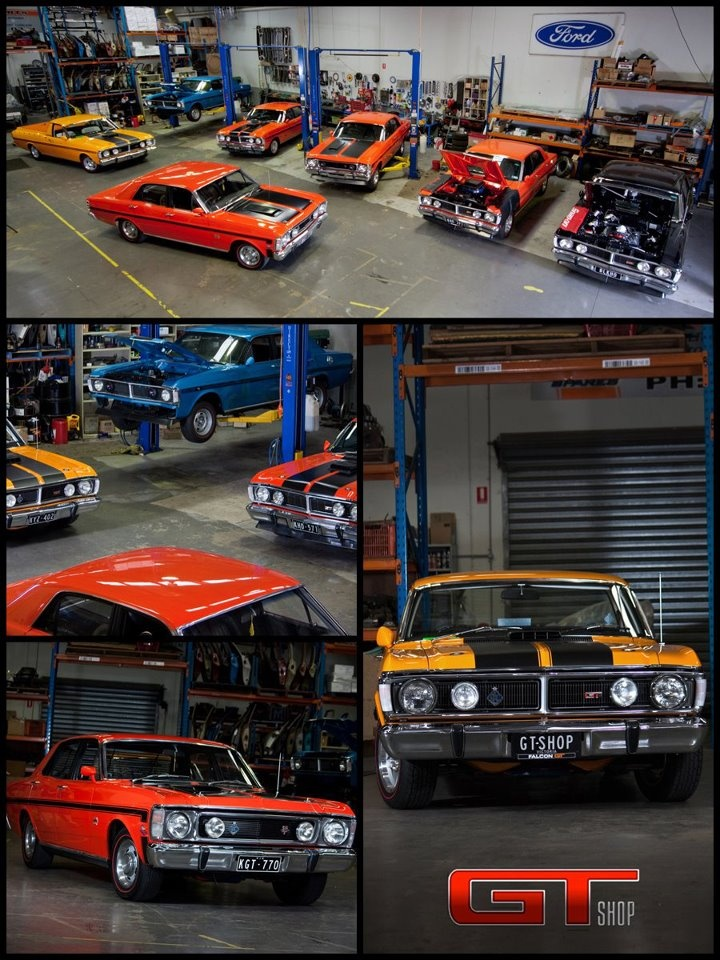 Collection of Ford Falcon Classic's  from Australia