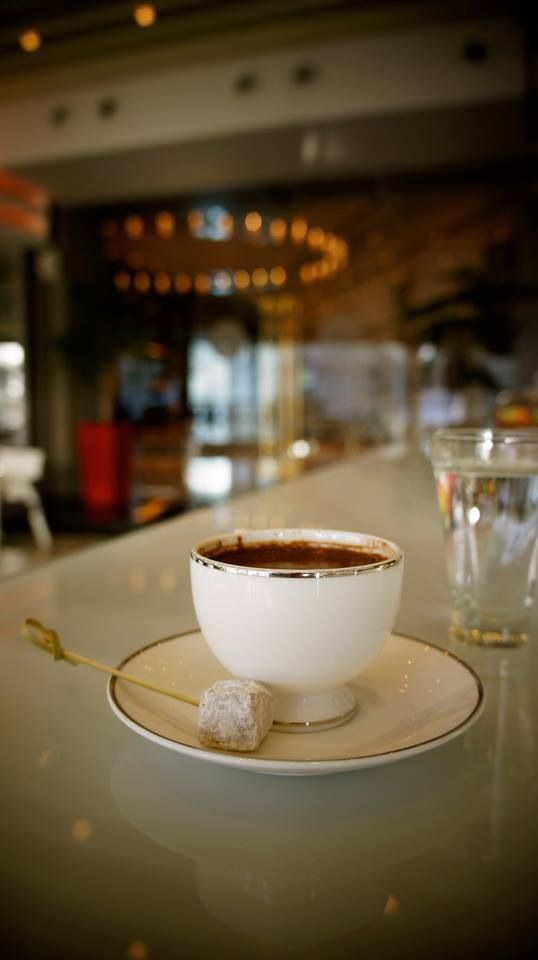 Indulge yourself to an afternoon break with #TurkishCoffee at our Lobby Cafe