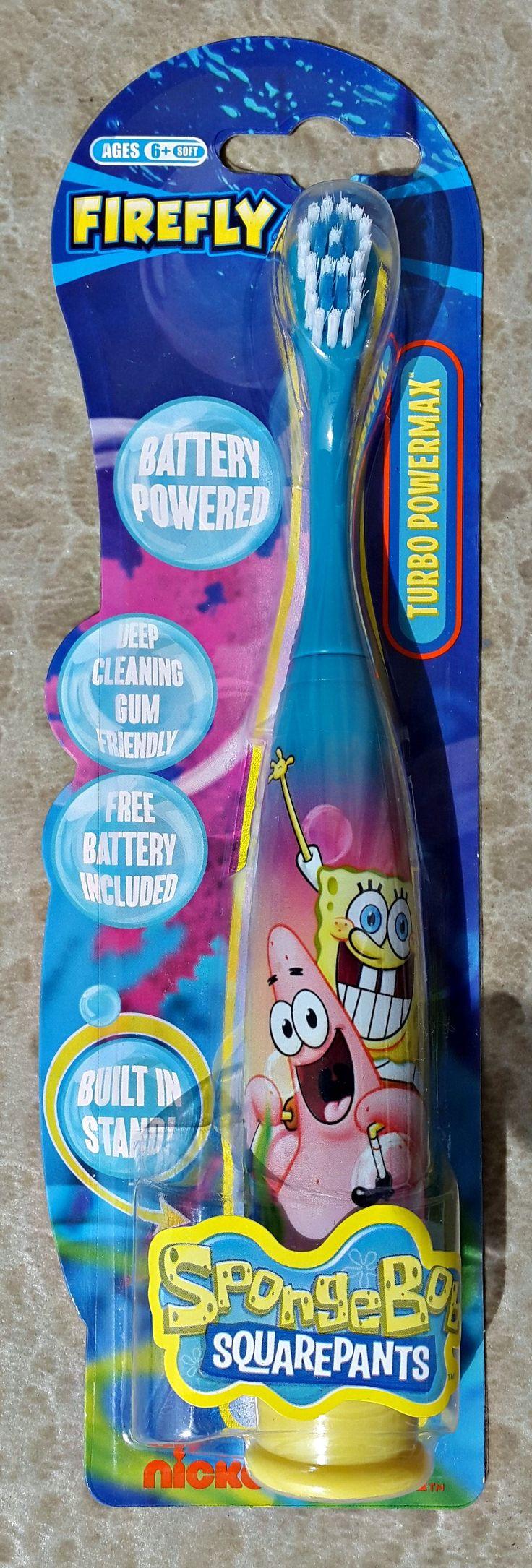Sponge Bob kiddies electric toothbrush