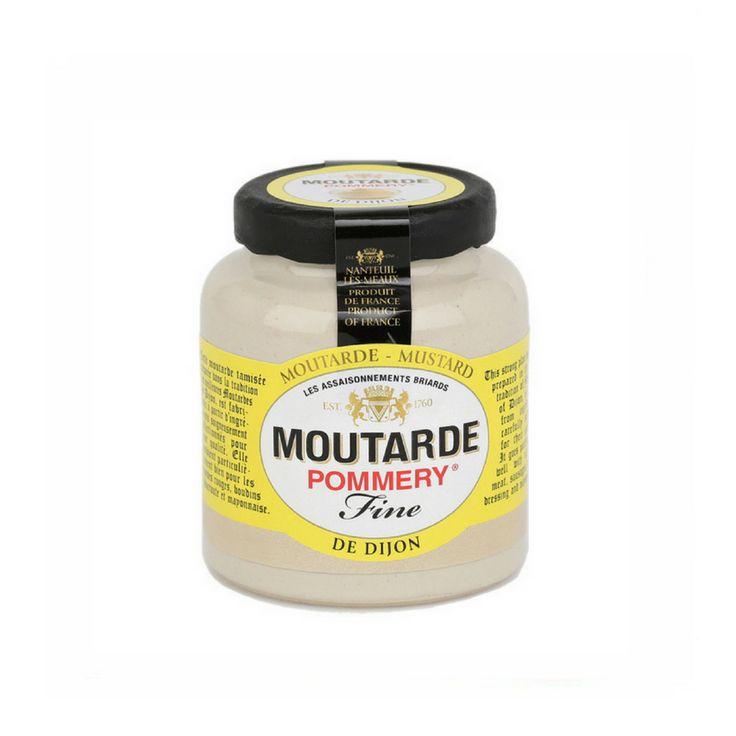French Dijon Mustard by Pommery 3.5 oz  #LeTablierbleu #TOPCHEFS #FrenchFood #FrenchCuisine