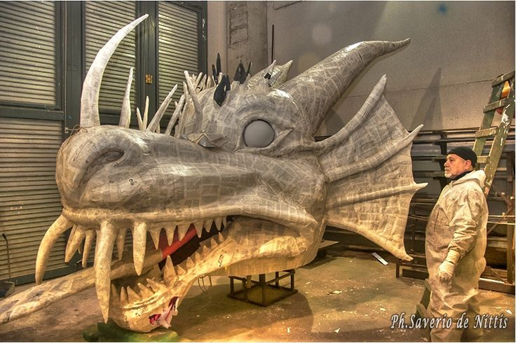 Carnevale di Manfredonia 2015: Work in progress dai Carristi