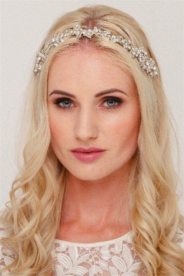 Crystal Bridal Hairband – Helen Irene Handmade