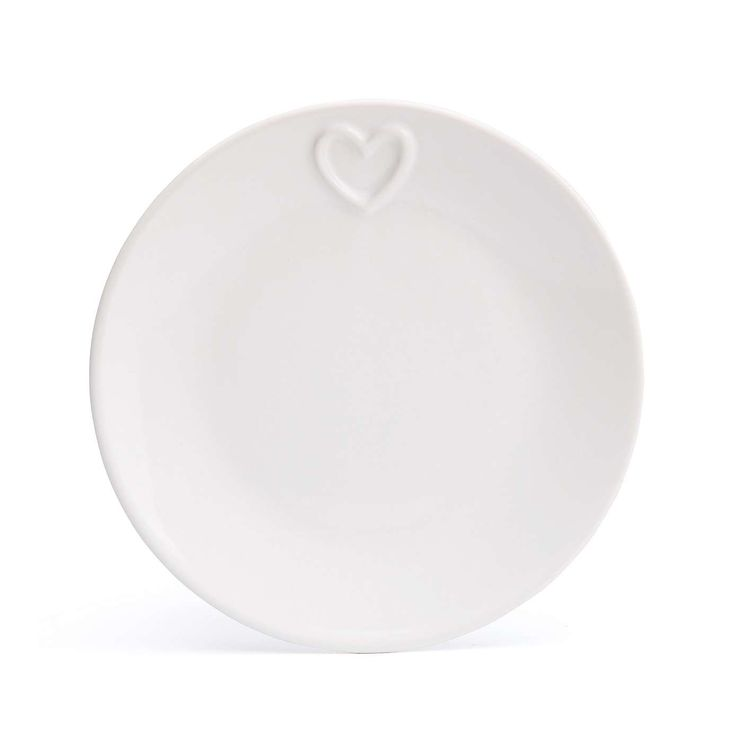 Country Heart Side Plate x2