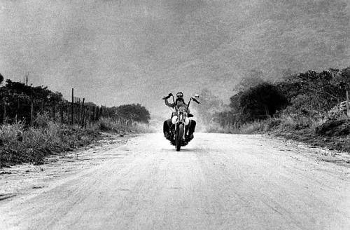 motorcycle dirt road