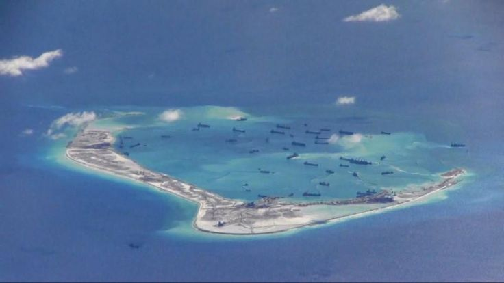 #world #news  U.S. warship sails within 12 miles of China-claimed reef