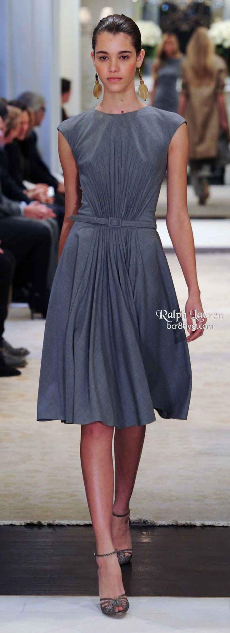 Love this dress. Ralph Lauren Pre Fall 2014