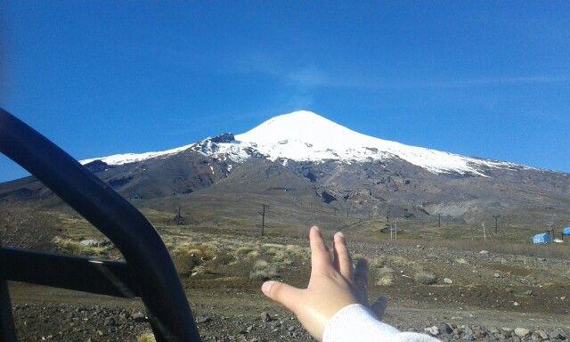 Tocar el volcán