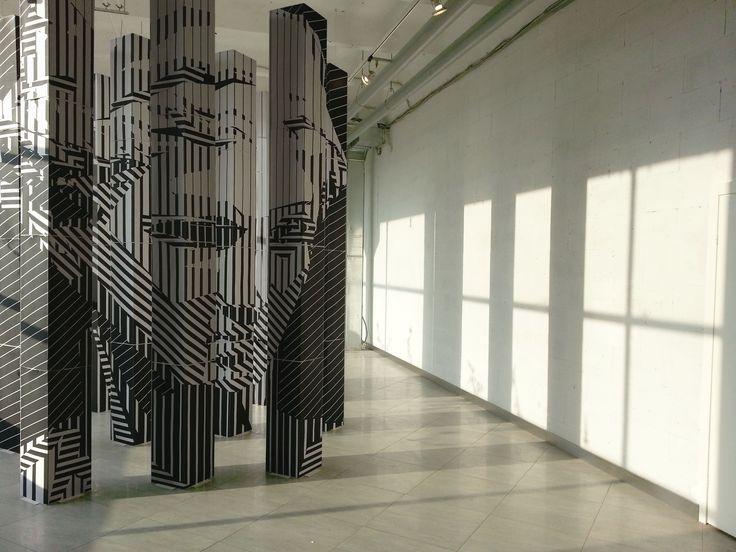 Installation on exhibition MDW 2014. Venus