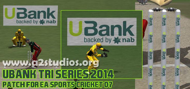 U Bank Tri Series 2014 Zim Graphics Set EA Cricket 07 Download