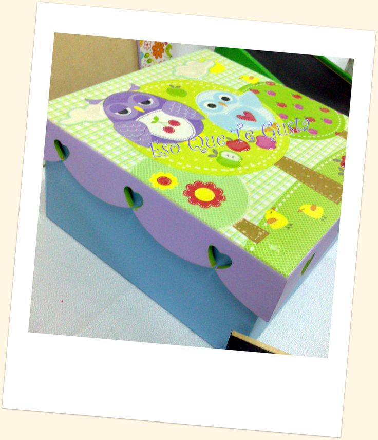 Pinterest Cajas Decoradas