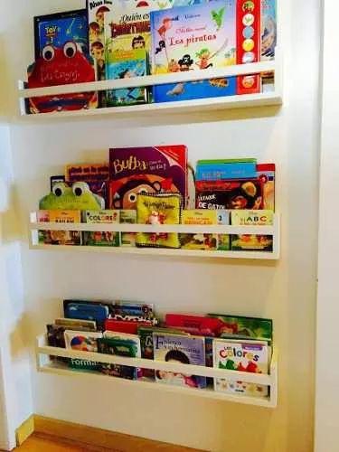 porta cuentos infantiles estantes repisas color a eleccion