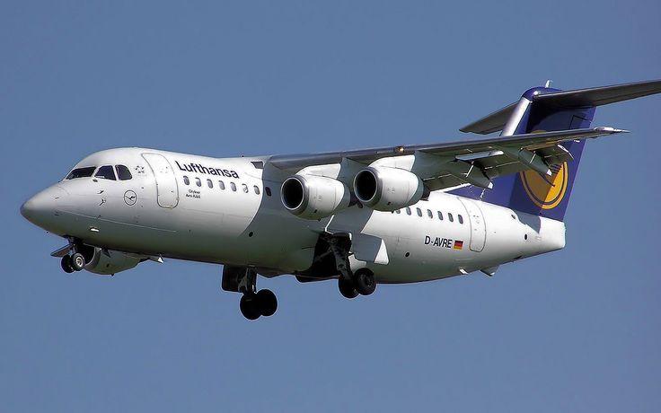 Lufthansa.rj85.arp - British Aerospace 146