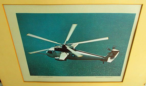 Sikorsky Aircraft S 61F Helicopter / USAF Star Helicopter /