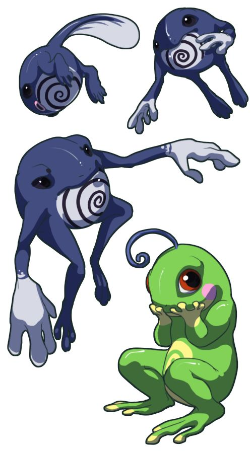 Horrible Pokemon by Silverbirch on deviantART