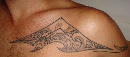 Mountain done at Unique Tattoos in Perth, Australia