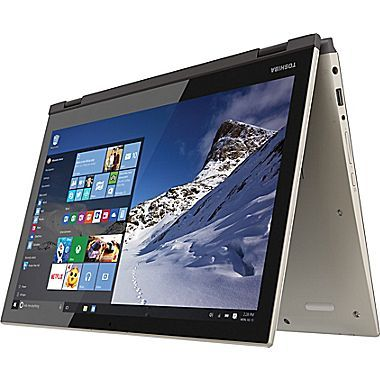 Georgine Saves » Blog Archive » Good Deal: Toshiba 2-in-1 Laptop with Windows 10 $150 Off