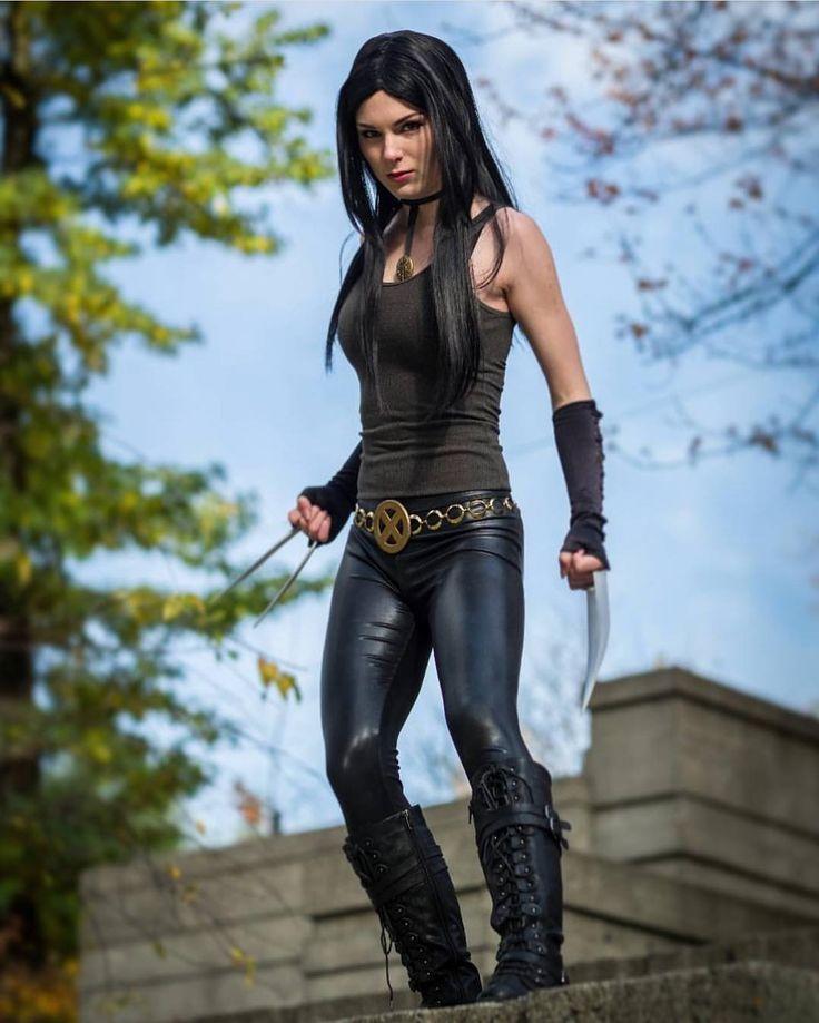 "856 lượt thích, 5 bình luận - Comic Art /Wolverine Art (@wolverine_mcg) trên Instagram: ""@the.rebecca.rose one bad ass X23 !!! #cosplayer #cosplay #cosplaying #x23cosplay #x23 #wolverine…"""