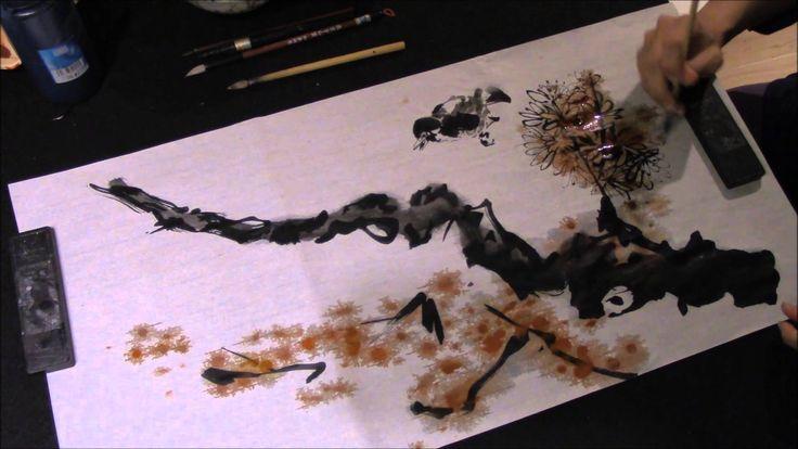 Ogawa Ryu - Sumi-e Expressive Free Painting IV