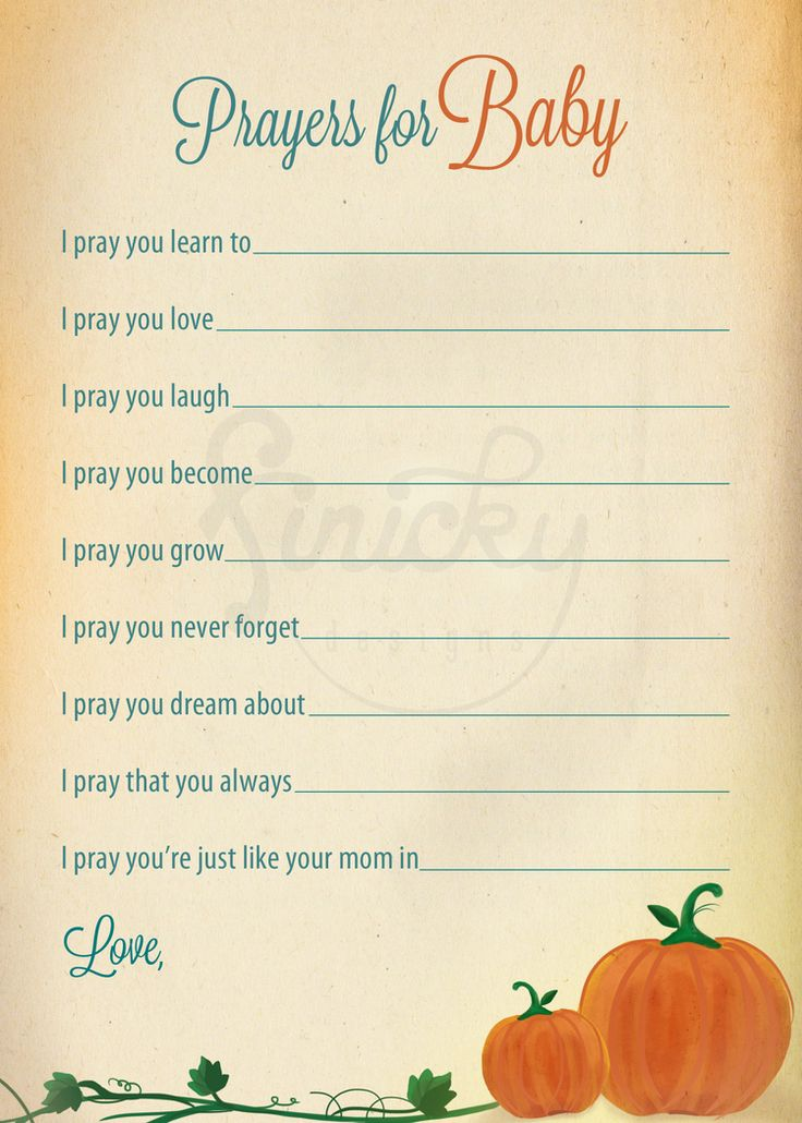 Lil Pumpkin baby shower theme- Prayers for Baby | by finicky designs