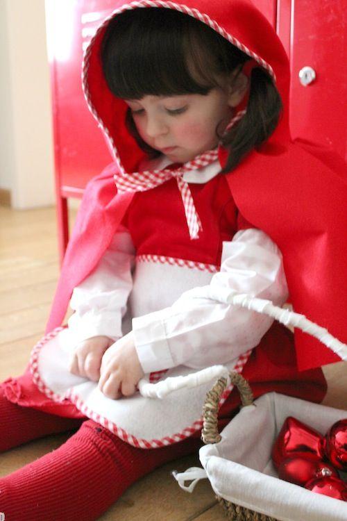 Idee di carnevale: il costume da cappuccetto rosso di Antonella
