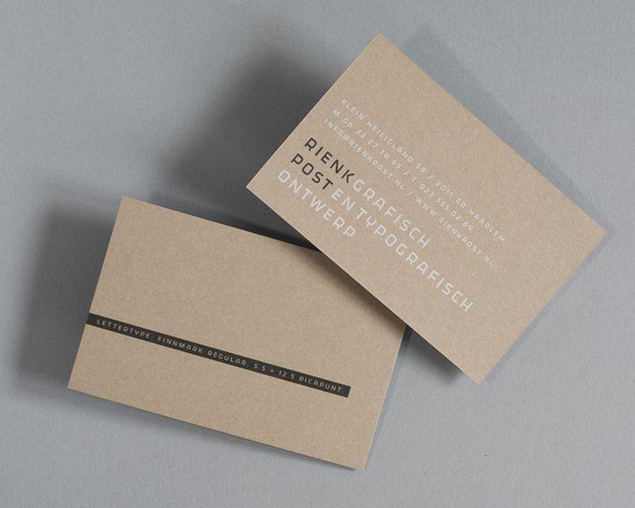 Rienk Post Grafisch en Typografisch Ontwerp [Rienk Post]