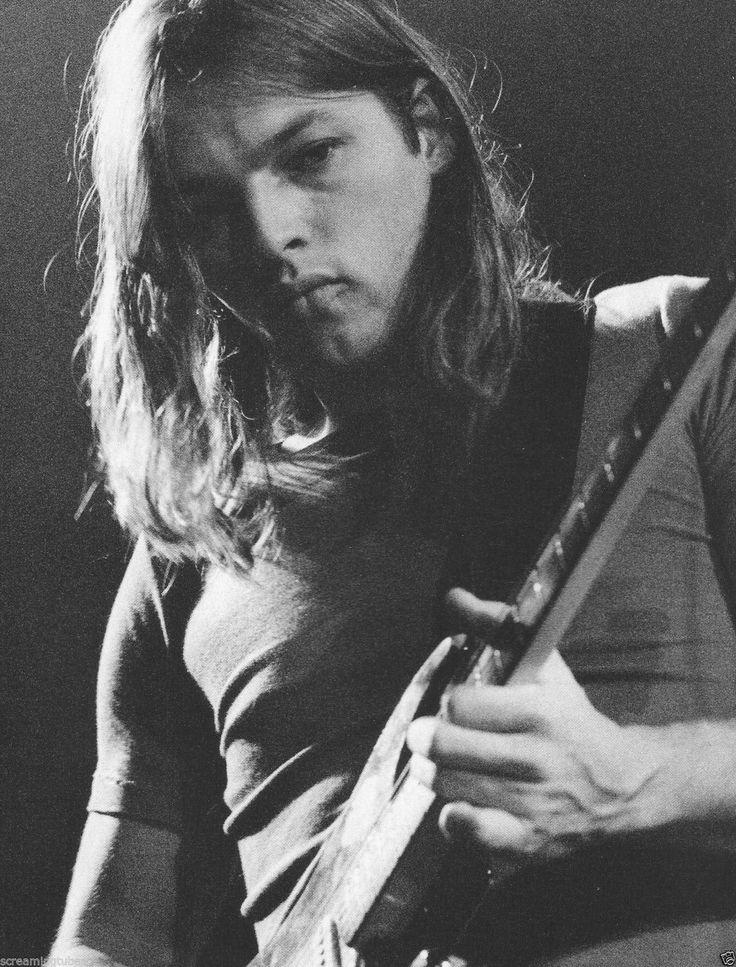 David Gilmour Pink Floyd at KB Hallen on September 23rd 1971 in Copenhagen, Denmark. (Photo by Jorgen Angel/Redferns)