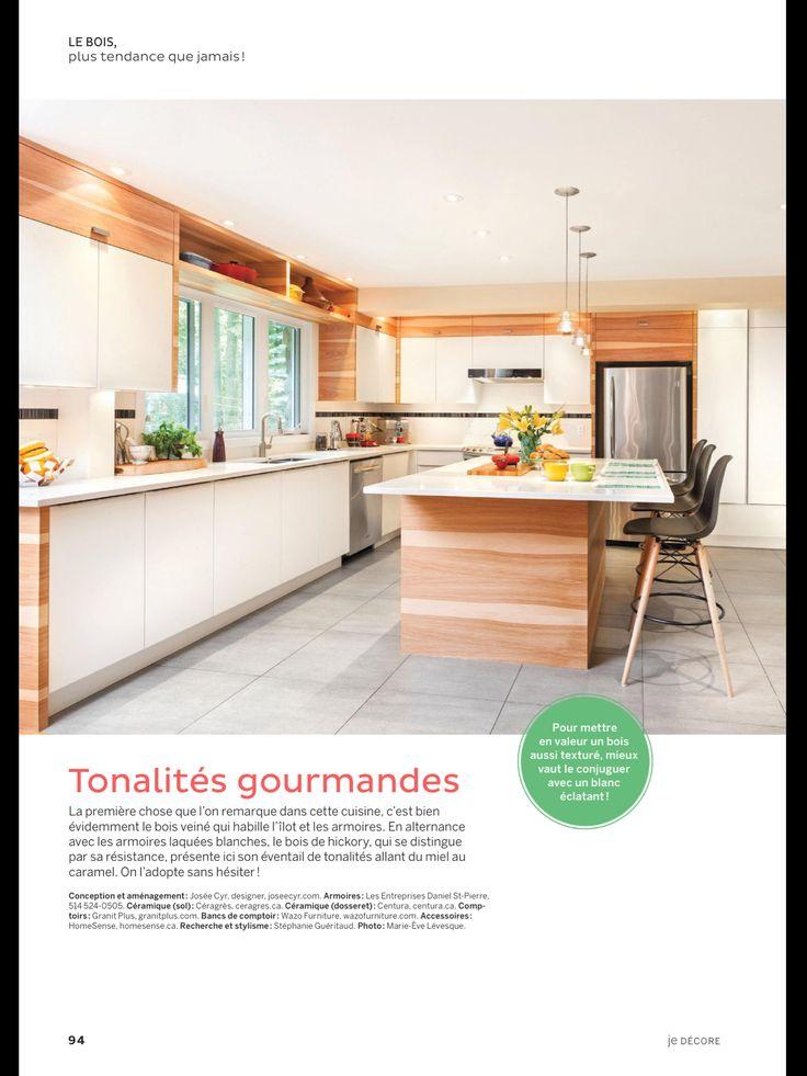 «LE BOIS, PLUS TENDANCE QUE JAMAIS !» de JE Décore, Août 2017. Lisez-le sur l'appli Texture, qui vous donne accès à plus de 200 magazines de grande qualité.